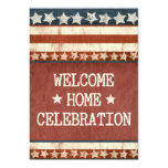 Military Welcome Home Party Photo 5x7 Paper Invitation Card