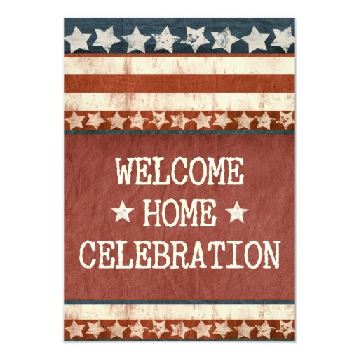 military welcome home party photo 5 u0026quot  x 7 u0026quot  invitation card