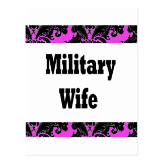 military wife2 postcard