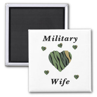Military Wife Love Magnet