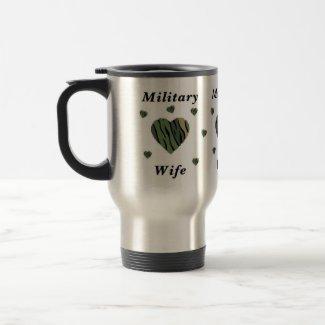 Military Wife Love mug