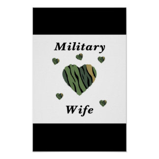 Military Wife Love Poster