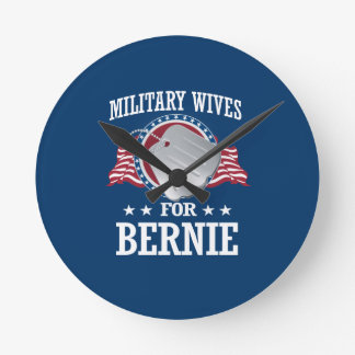 MILITARY WIVES FOR BERNIE SANDERS ROUND CLOCK