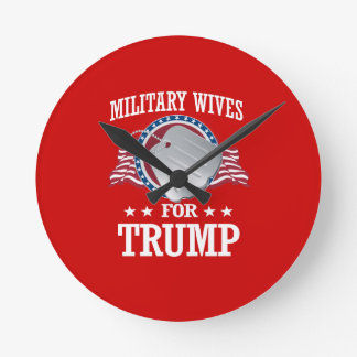 MILITARY WIVES FOR TRUMP ROUND CLOCK