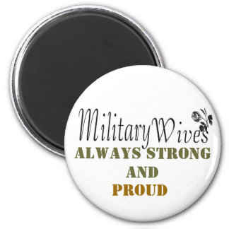 Military wives magnet