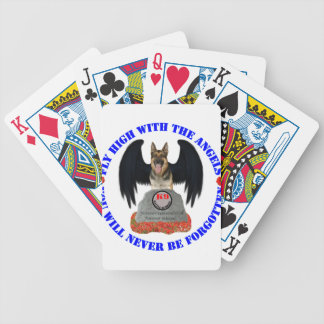 Military Working Dogs M.W.D. Bicycle Playing Cards