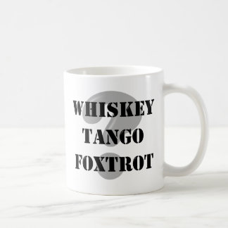 Military WTF? Coffee Mug