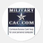 MilitaryCAC memorabilia Stickers