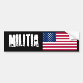 militia Bumper Sticker