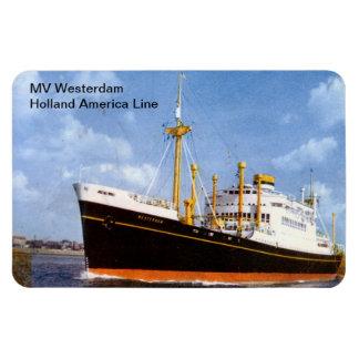 Milivoltio Westerdam, línea de Holanda América Iman De Vinilo