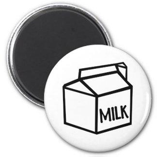 Milk 2 Inch Round Magnet