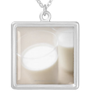 Milk 2 silver plated necklace