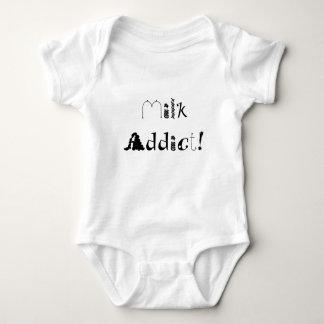 Milk Addict! Baby Bodysuit
