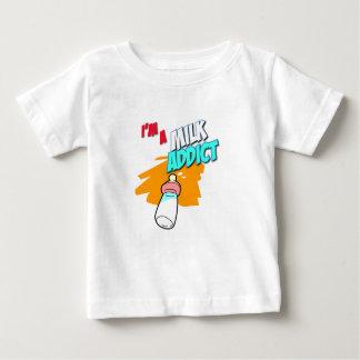 Milk Addict Baby Shirt