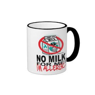 Milk Allergy Coffee Mugs