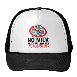 Milk Allergy Trucker Hat