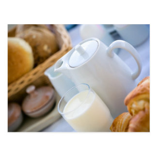 Milk and bakery post cards