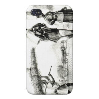 Milk and Capim Vendors Cover For iPhone 4