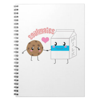Milk and Cookie Notebook