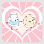 Milk and Cookie Stickers