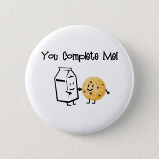 Milk and Cookies Button