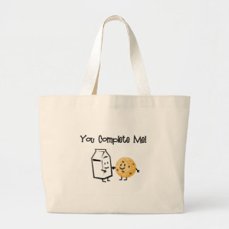 Milk and Cookies Canvas Bags