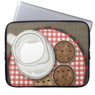 Milk and Cookies Computer Sleeve