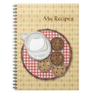 Milk and Cookies Notebook
