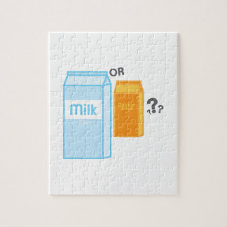 Milk and Juice Jigsaw Puzzles