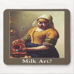 Milk Art? Mouse Pad