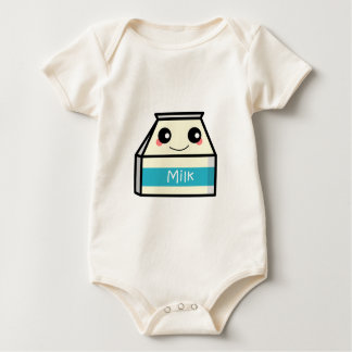 Milk Carton Baby Bodysuit