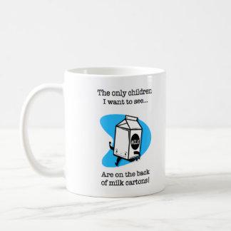 Milk Carton Children Coffee Mug