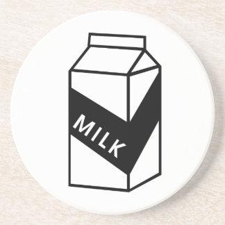 Milk Carton Beverage Coaster