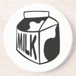 Milk Carton Beverage Coasters