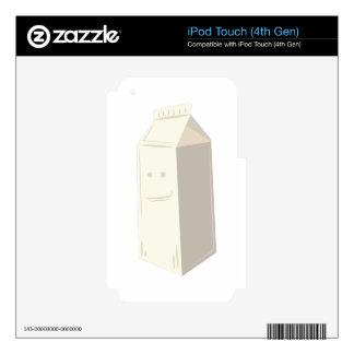 Milk Carton iPod Touch 4G Decals