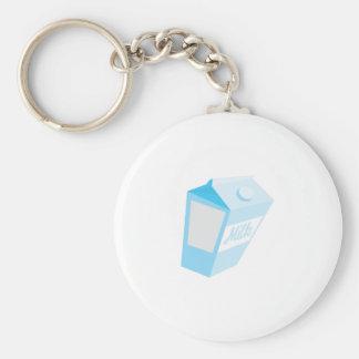 Milk Carton Keychain