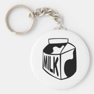 Milk Carton Key Chains