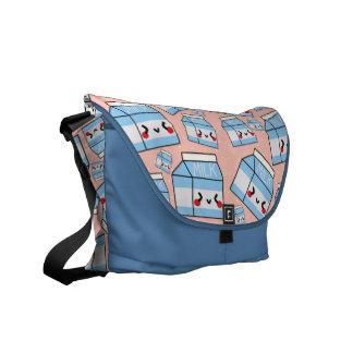 MILK Carton Minis Messenger Bags
