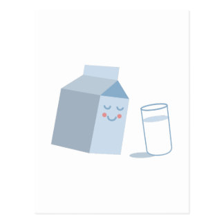 Milk Carton Postcard