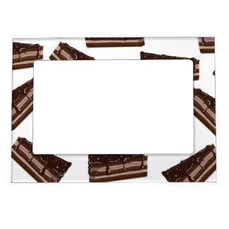 Milk Chocolate cake. Magnetic Frame