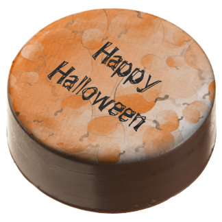 Milk Chocolate Dipped Oreo® Happy Halloween Chocolate Dipped Oreo