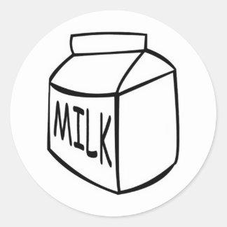 Milk Classic Round Sticker