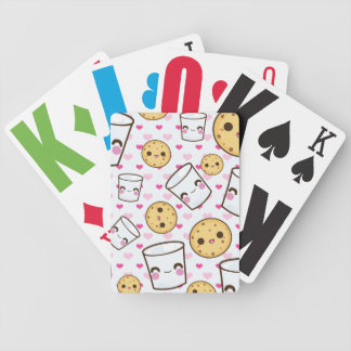 Milk & Cookies Bicycle Playing Cards