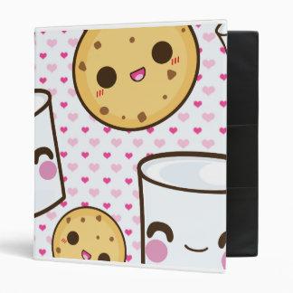 Milk & Cookies Vinyl Binder