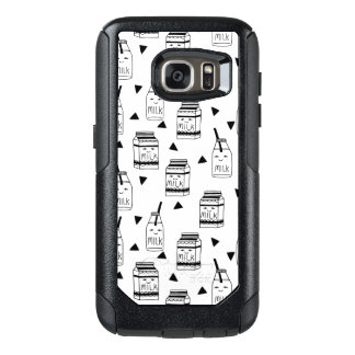 Milk & Cookies - Black White Food / Andrea Lauren OtterBox Samsung Galaxy S7 Case