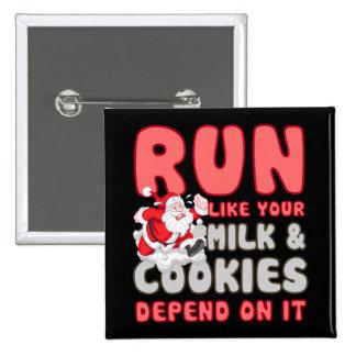 Milk & Cookies Button