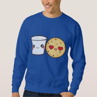 Milk & Cookies Couple Sweatshirt