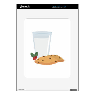 Milk & Cookies Decal For The iPad