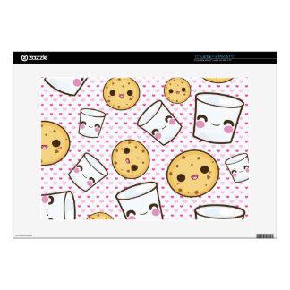 Milk & Cookies Decals For Laptops