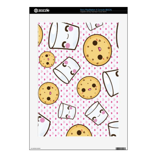 Milk & Cookies Decals For PS3 Console